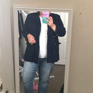 Saks Fifth Avenue Navy Blazer size 18